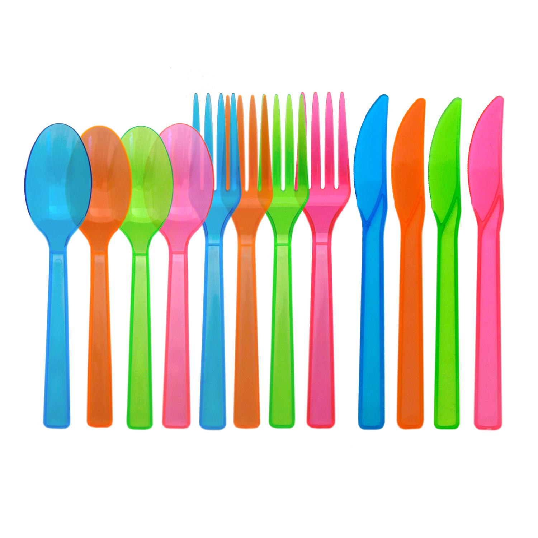 Neon Cutlery