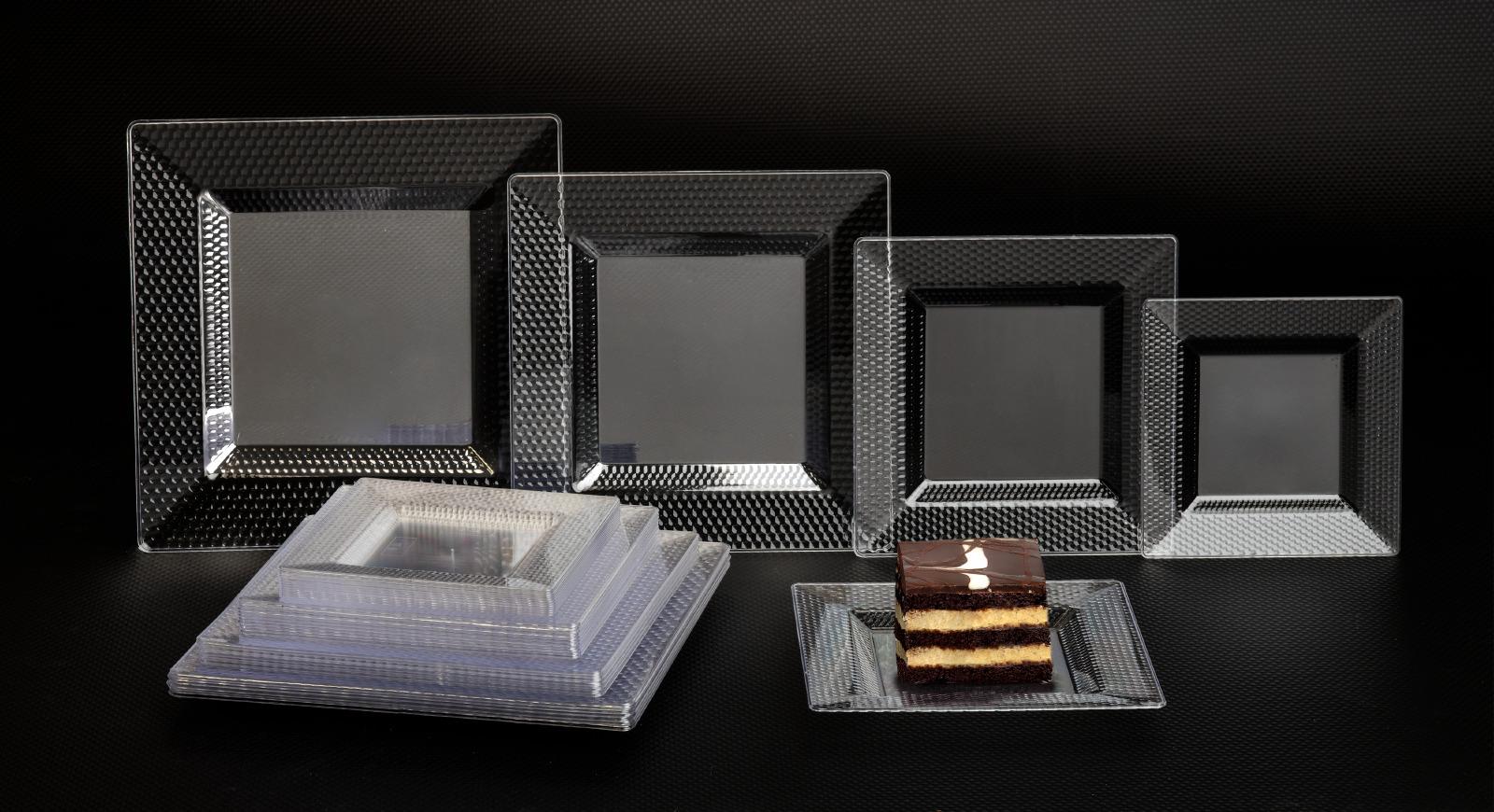 HoneyComb Square Plates
